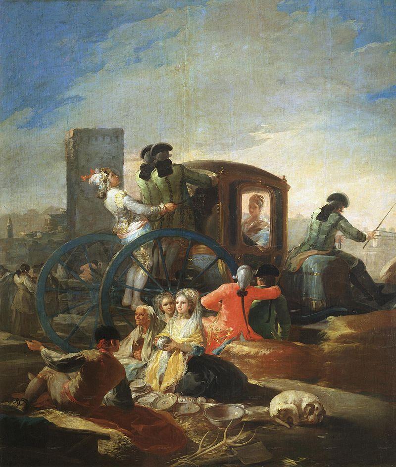 el cacharrero Goya 1746-1828