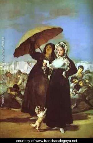 A woman reading a letter 1812 Goya