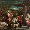 Adoration mages jacopo bassano