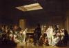 Louis-Léopold Boilly    Le jeu de billard   1807