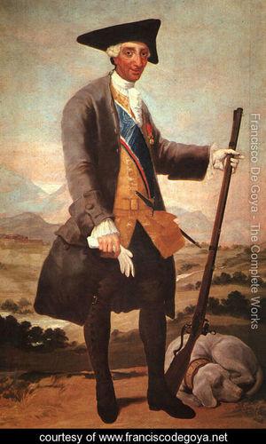 Charles III. Goya 1746-1828