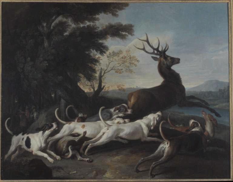 Debuche du cerf alexandre francois desportes 1661 1743