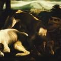 Deux chiens paysage jacopo bassano 1515-1592