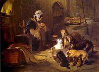 Edwin landseer a highland breakfast