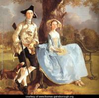 Gainsborough 15 mr and mrs andrews detail 1750