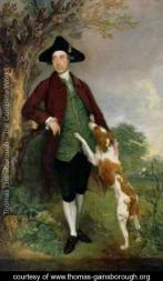 Gainsborough portrait of george venables vernon 2nd lord vernon