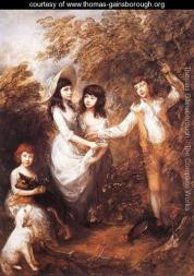 Gainsborough the marsham children 1787