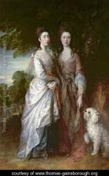 Gainsborough the painters daughters