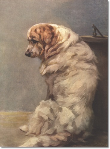 Great pyrenees by Maud Earl
