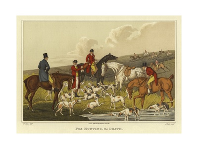 Henry thomas alken fox hunting the death
