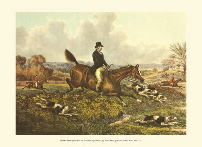 Henry thomas alken the english hunt