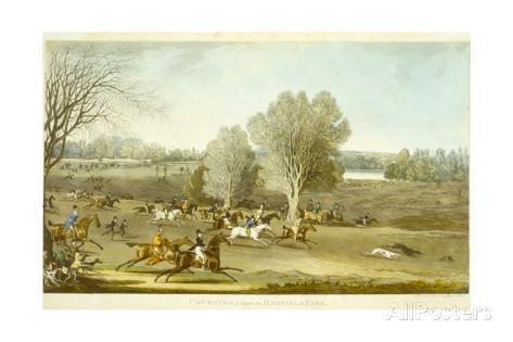 James pollard coursing a view of hatfield park