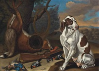 Jan fyt a hound with a hare