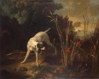 Jean-Baptiste Oudry braque arrêtant une perdrix