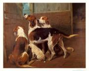 John emms hounds by a stable door