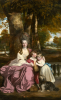 Joshua Reynolds      Lady Elizabeth Delme and her children 1778