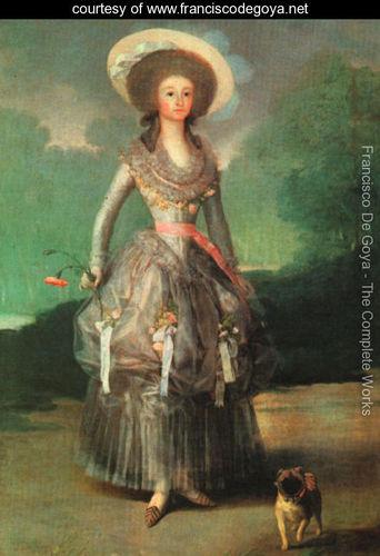 Marquesa de pontejos Goya 1746-1828