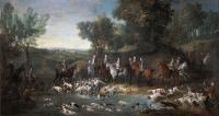 Oudry chasse dans la foret de Saint-Germain