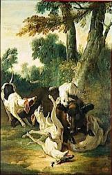 Oudry Jean-Baptiste une chasse au sanglier