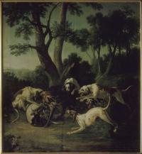 Oudry j b loup attaqué par 6 chiens