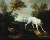 Oudry jean baptiste 1696 1755 Blanche chienne du chenil royal