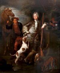 Oudry portrait de Monsieur Tarbocher de Bea