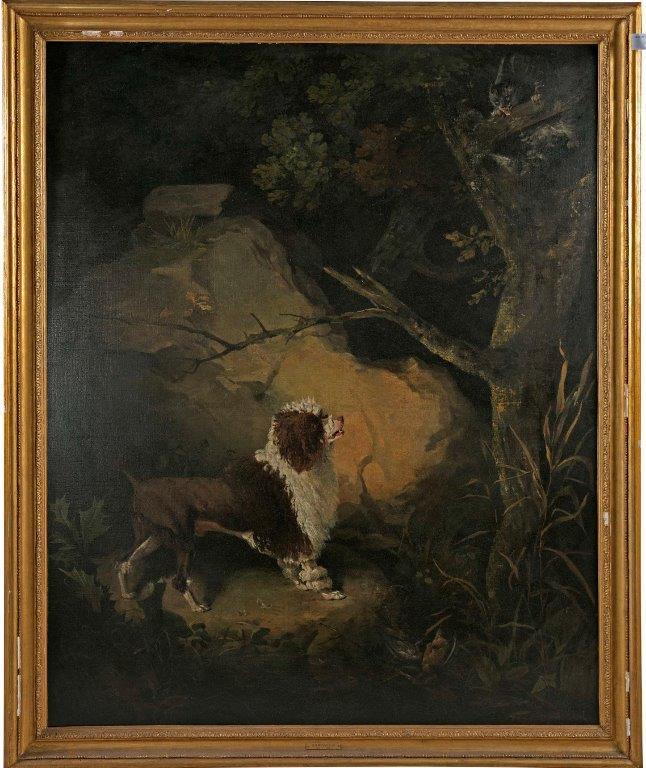 Barbet anglais en lion Philip Reinagle 1749-1833