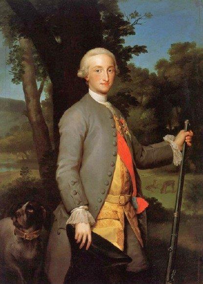 Prince Charles IV  1765  artiste inconnu