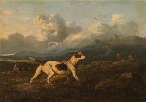 Pointer.  Philip Reinagle  1749-1833