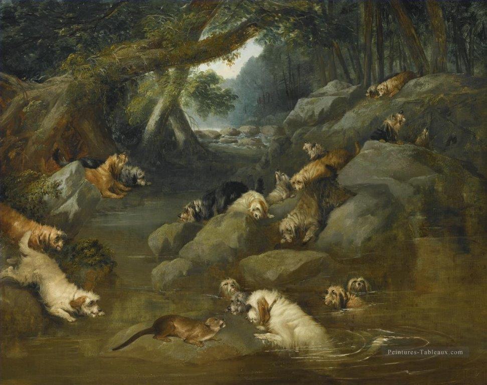 Otter hounds Philip Reinagle 1749-1833