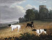 Pointers in a landscape Edwin Cooper 1785-1833