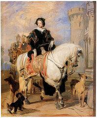 Queen victoria on horseback sir edwin landseer