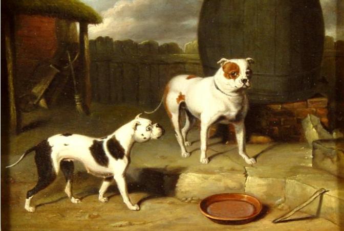 Crib and Rosa.  Philip-Samuel Raven   1775-1847