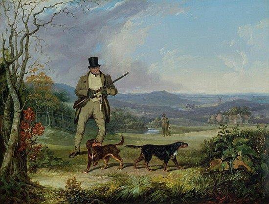 Setters Philip Reinagle 1749-1833