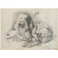 Sir edwin henry landseer a begging terrier