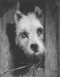 Sir edwin henry landseer a cairn terrier