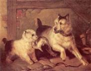 Sir edwin henry landseer a chip off the old block