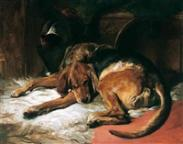 Sir edwin henry landseer bloodhound