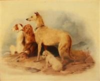 Sir edwin henry landseer dogs waiting