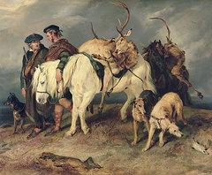 The deerstalkers return sir edwin landseer