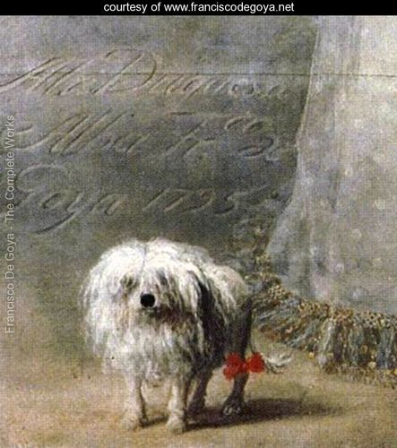 The duchess of alba detail  Goya 1746-1828