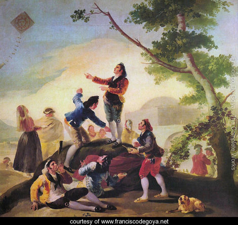 The kite Goya 1746-1828