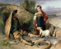 The stone breaker and his daughter sir edwin landseer