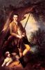 Thomas Gainsborough    William Poyntz of Midgham and his dog Amber   1762